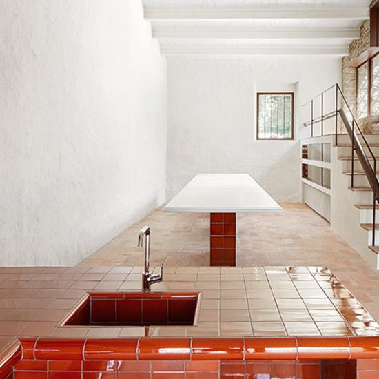 Gres Esmaltado Interior Revestimiento esmaltado rojo