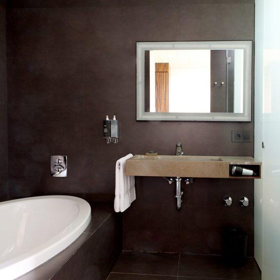 Ceramica interior-porcelanico slim-soluciones Ditail HotelSpaEmpuries03