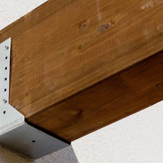 Madera natural-exteriores- soluciones-Ditail-pergola detalle