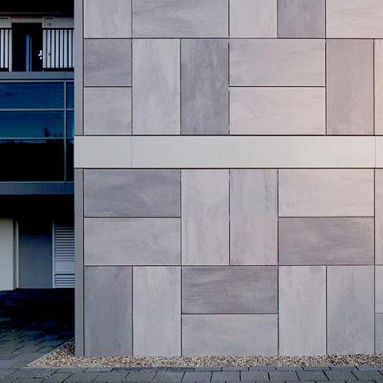 Porcelanico-Fachada-Grapa Oculta- Soluciones Ditail- Mosa tones