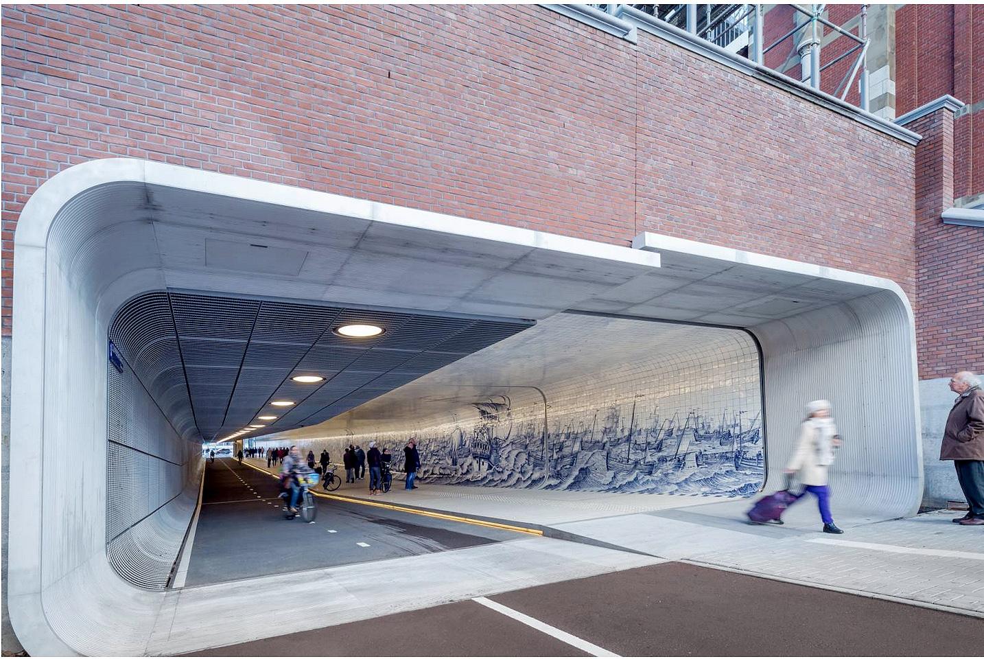 ditail-ceramica-pavimiento-el-tunel-cuyperspassage-amsterdam