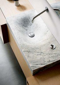 piezas especiales- piedra lavabo-soluciones -Ditail Solución Interior PiedraSolución Interior Piedra
