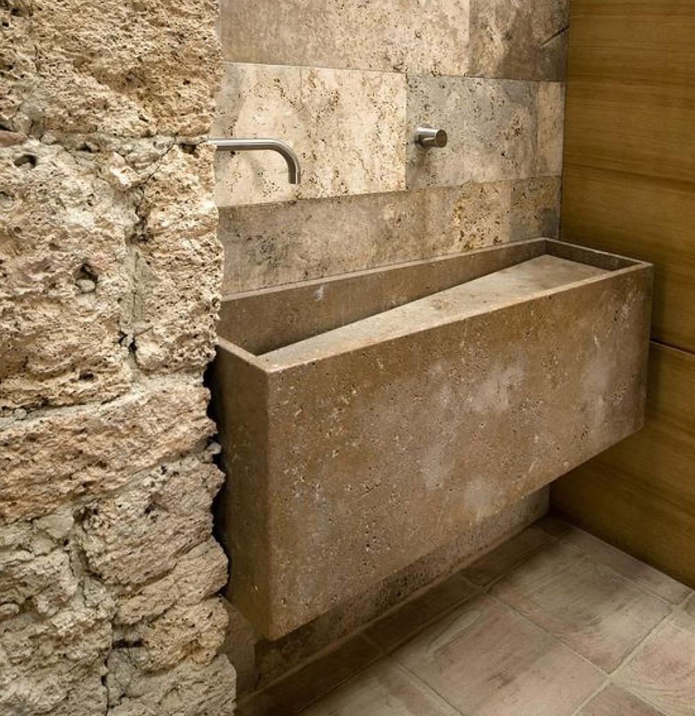 Solución Ditail piezas especiales Interior Piedra