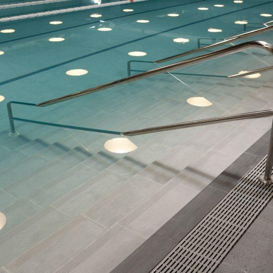 Piezas especiales piscinas Exterior Lalhondiga Bilbao