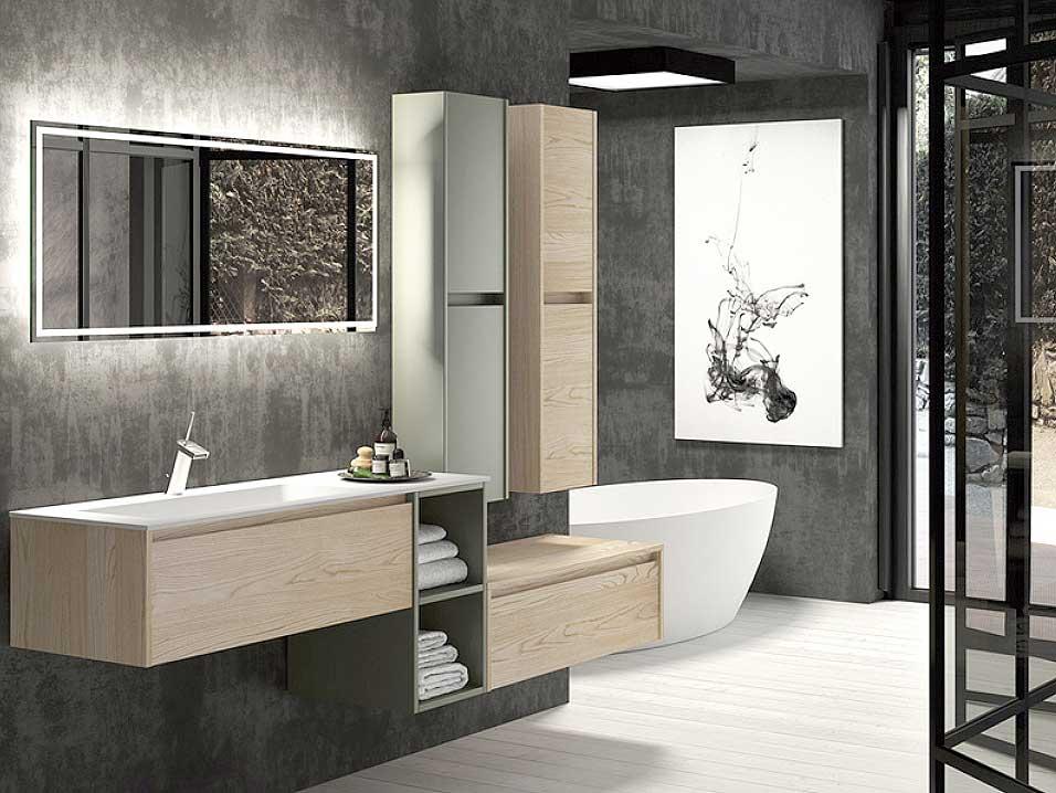 Ditail-mueble baño-griferia