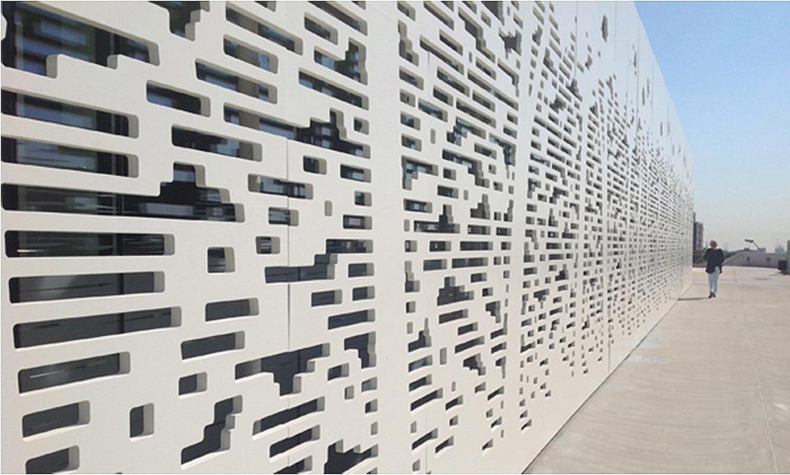 Ditail -materiales- arquitectura -celosias